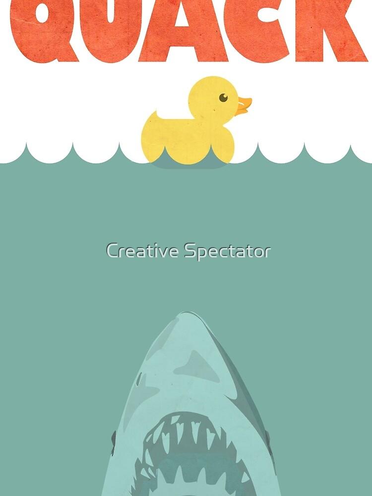 Jaws Gummiente 'Quack' von Feelmeflow