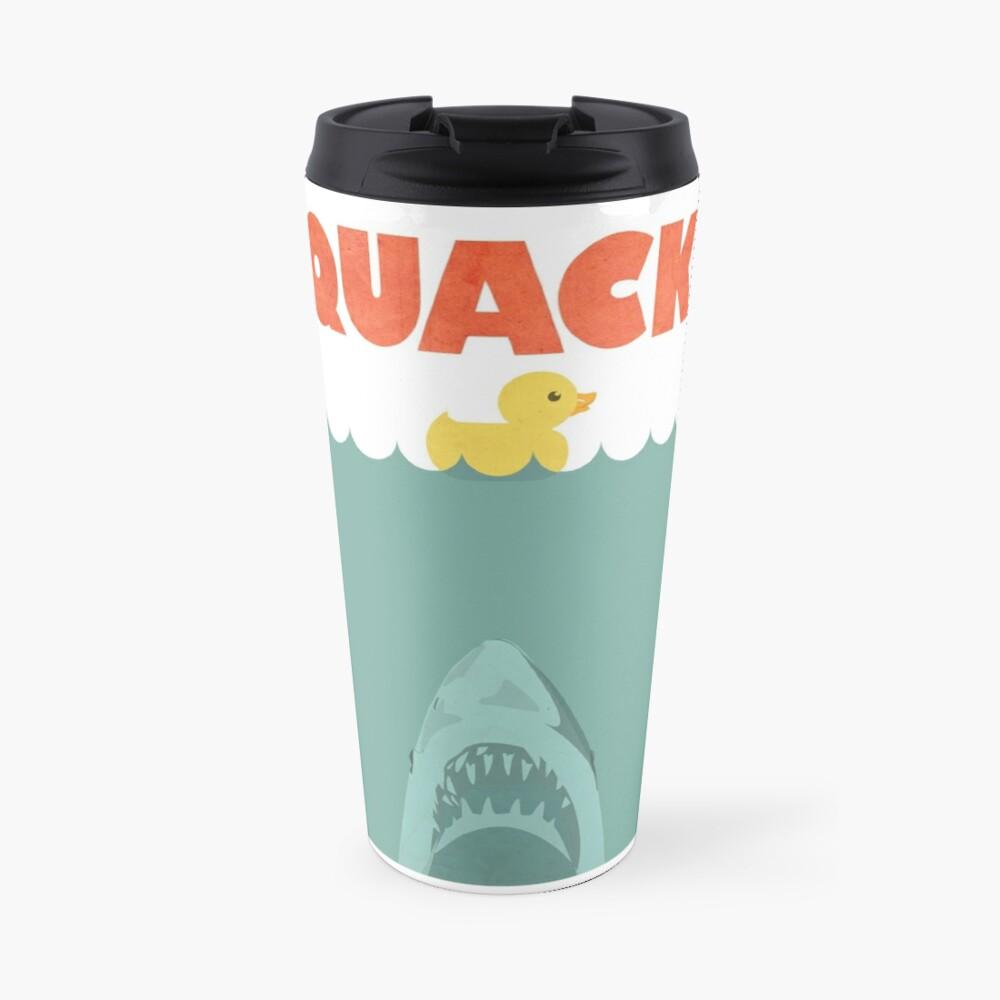 Jaws Gummiente 'Quack' Thermobecher