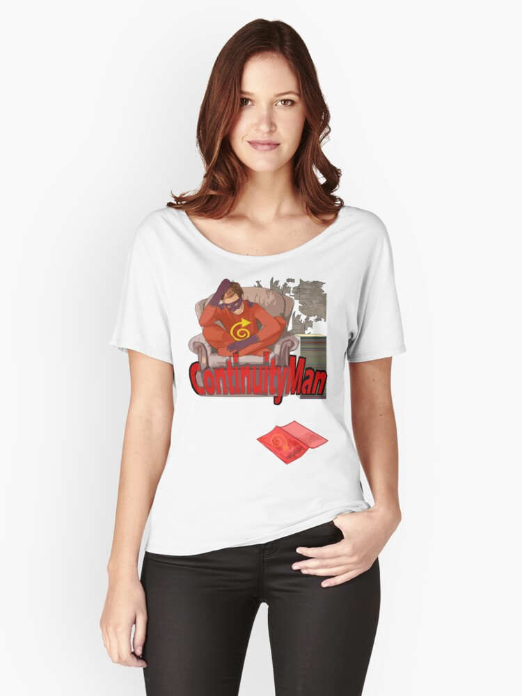 continuityman Women's Relaxed Fit T-Shirt Front