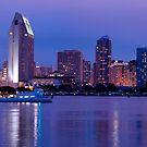 San Diego, CA Skyline by camfischer