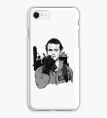 Ghostbusters Peter Venkman Bill Murray illustration iPhone Case/Skin