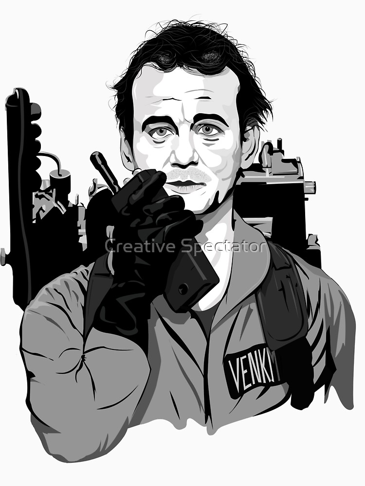 Ghostbusters Peter Venkman Bill Murray illustration | Unisex T-Shirt