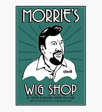Goodfellas, Morrie's Wigs Shop Sign T-shirt  Photographic Print