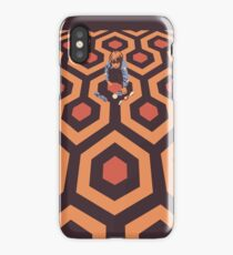 The Shining Screen Print Movie Poster  iPhone Case