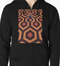 The Shining Screen Print Movie Poster  Zipped Hoodie