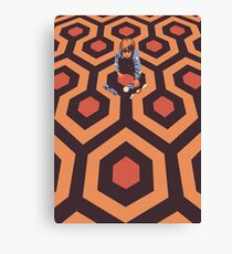 The Shining Screen Print Movie Poster  Canvas Print