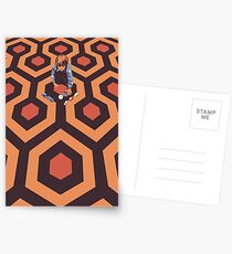 The Shining Screen Print Movie Poster  Postcards