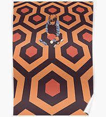 The Shining Screen Print Movie Poster  Poster