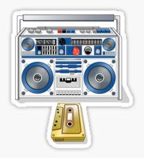 Retro Star Wars Boom box/Ghetto Blaster R2-D2 C-3PO Sticker