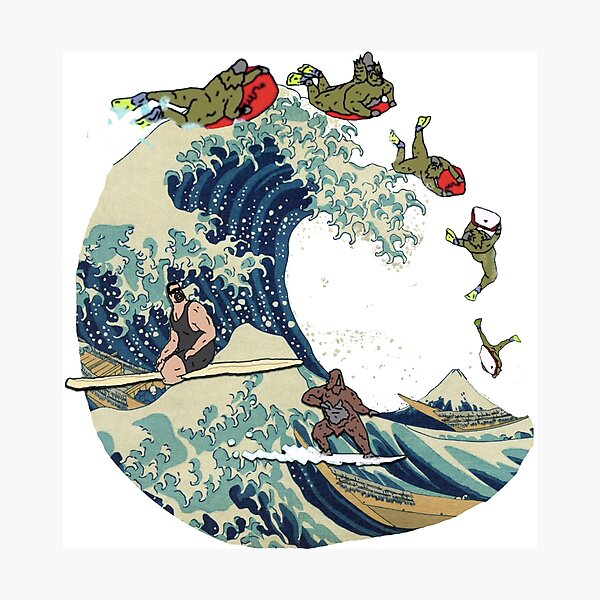 Great Wave of Browntown Photographic Print