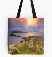 Blasket Island Sunset Tote Bag