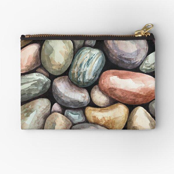 Beach pebbles Zipper Pouch