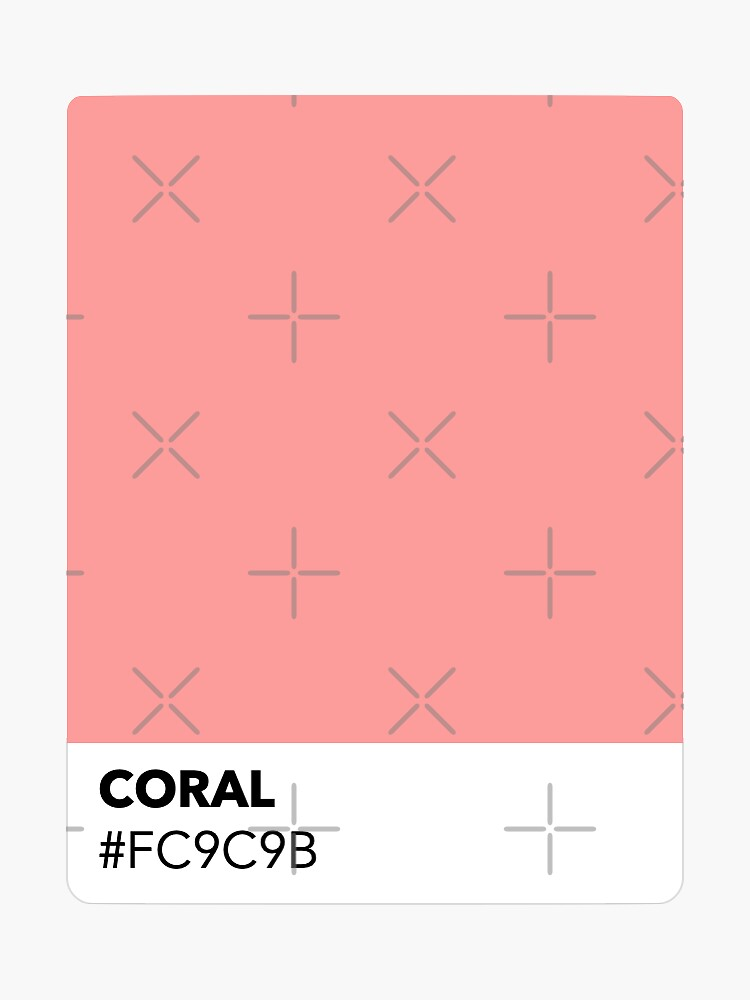 CORAL #FC9C9B by happycrystal