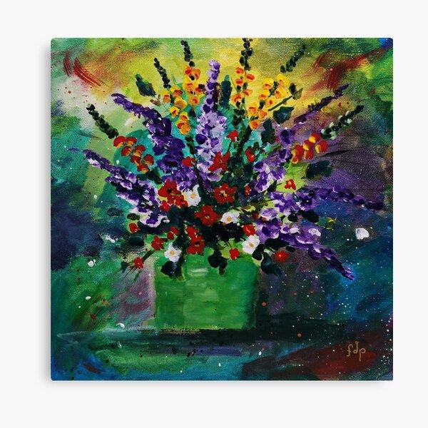 Snaps & Lilacs Canvas Print