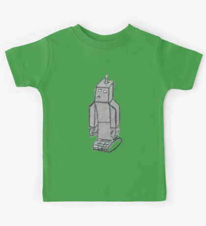 robo sad  Kids Clothes