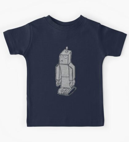 robo sad  Kids Clothes