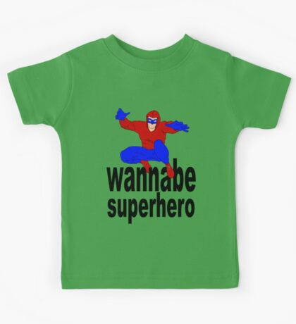 wannabe superhero 1 Kids Clothes