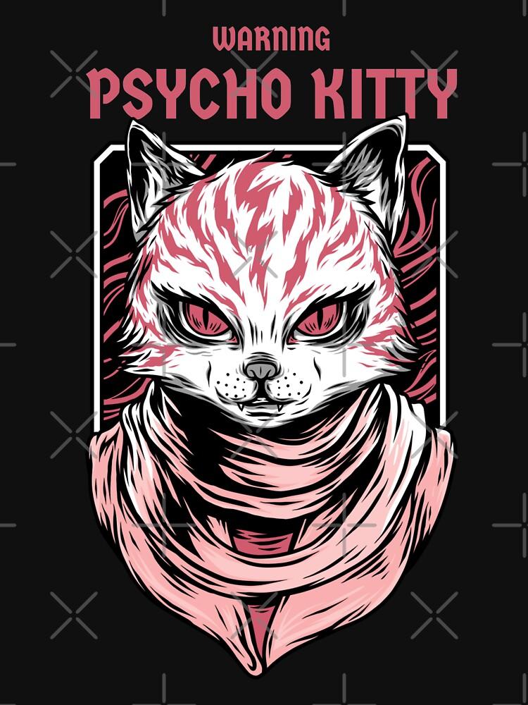 WARNING - Psycho Kitty by plzLOOK