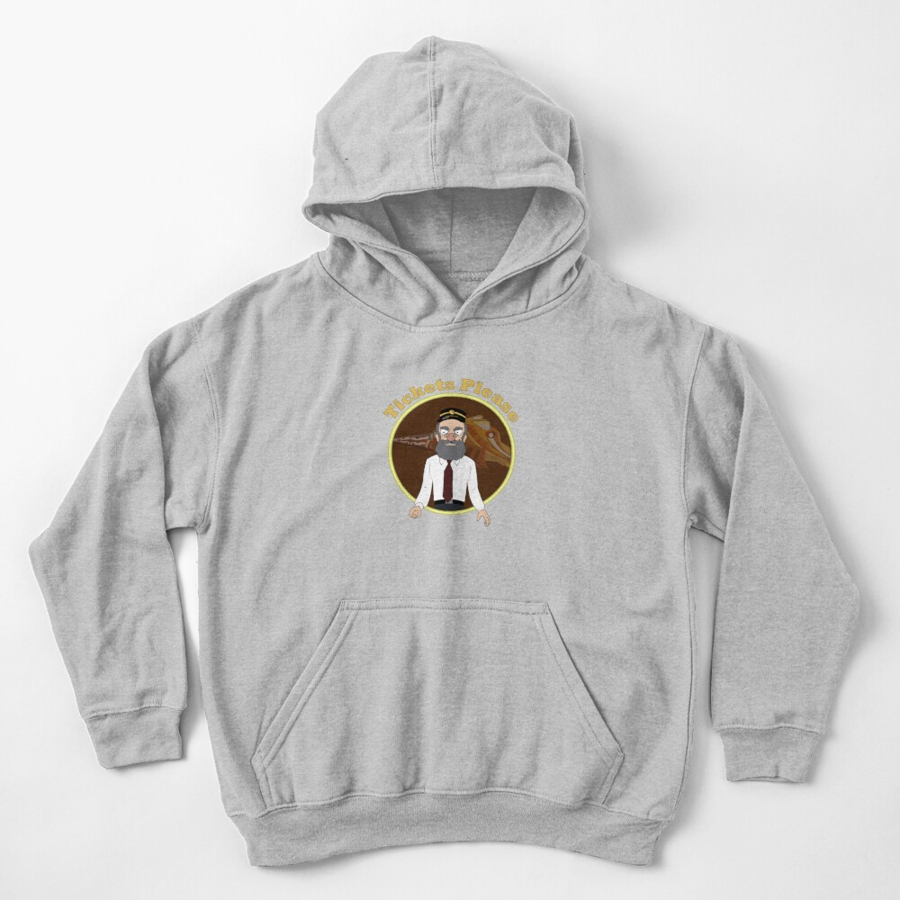 Tickets Please, Rick and Morty Kids Pullover Hoodie