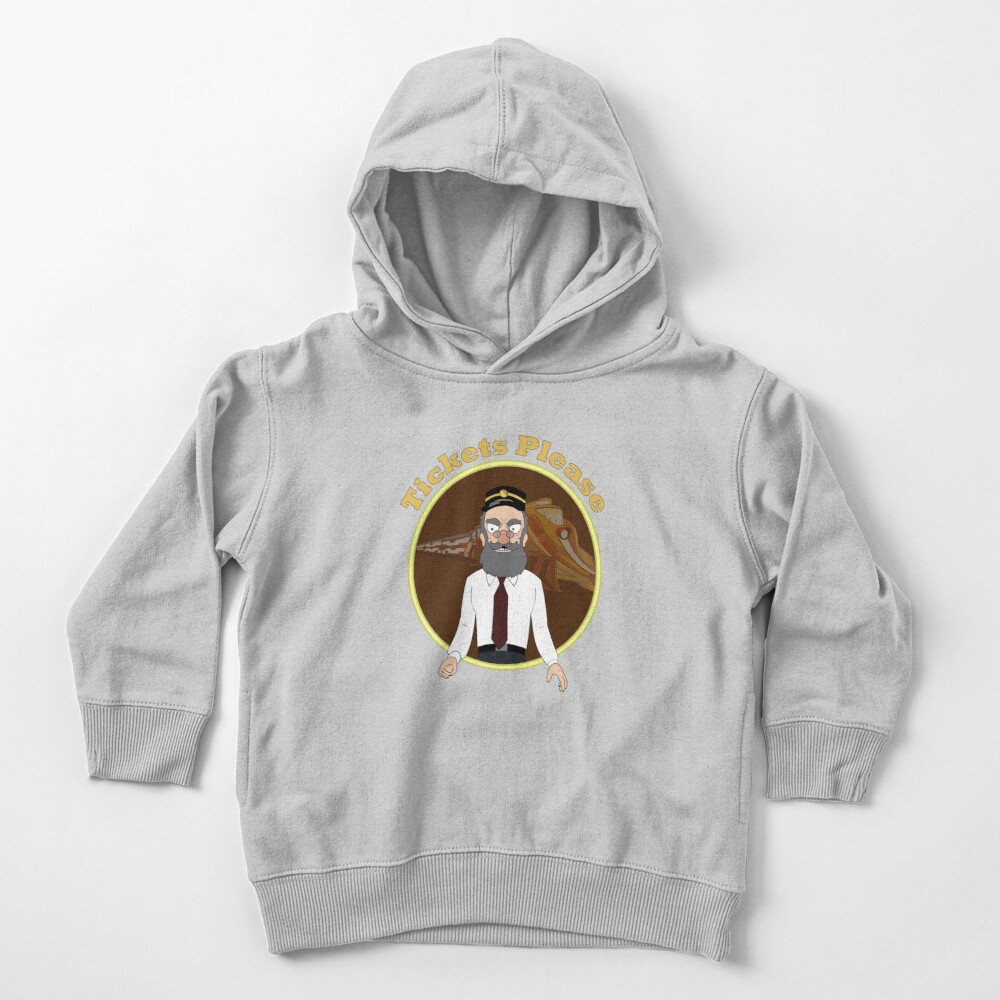 Tickets Please, Rick and Morty Toddler Pullover Hoodie