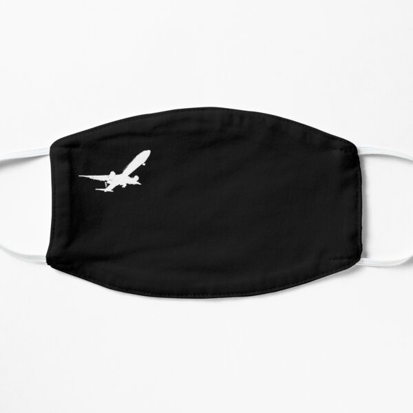 Aircraft boeing Airbus starting design Flat Mask