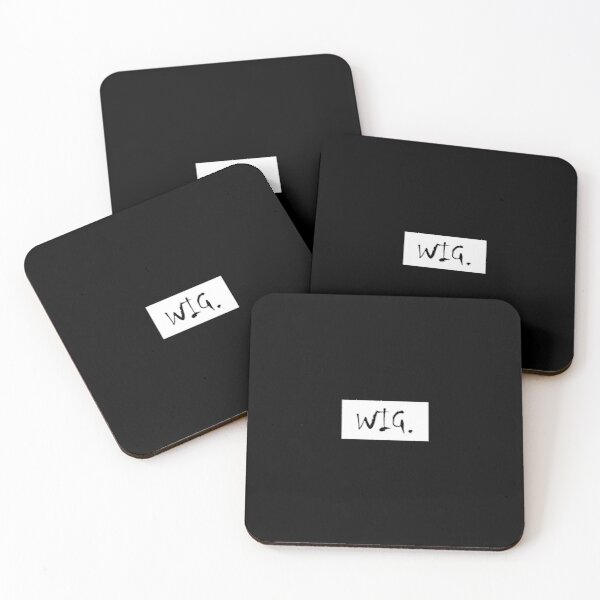 and incited so much shock in you Coasters (Set of 4)