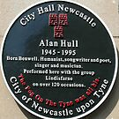 148 - ALAN HULL PLAQUE  (D.E. 2012) by BLYTHPHOTO
