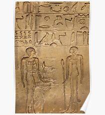 Egyptian tablet Poster
