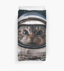Space Catet Duvet Cover