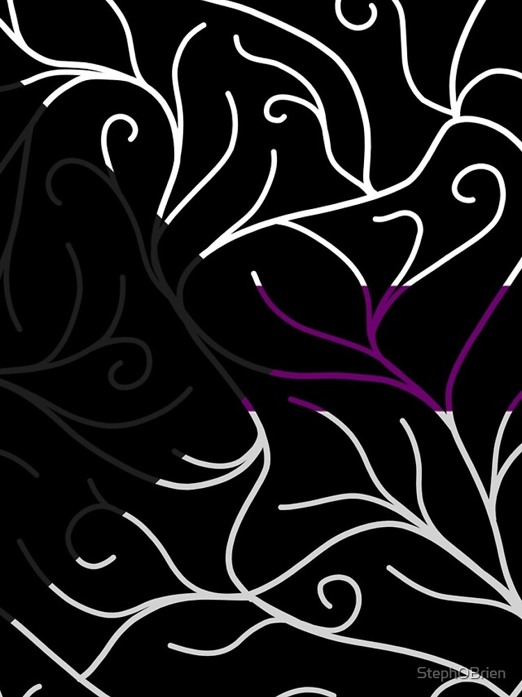 Black Velvet, Demisexual Flag Vines by StephOBrien