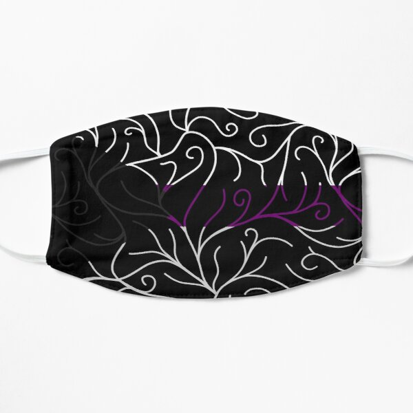 Black Velvet, Demisexual Flag Vines Mask