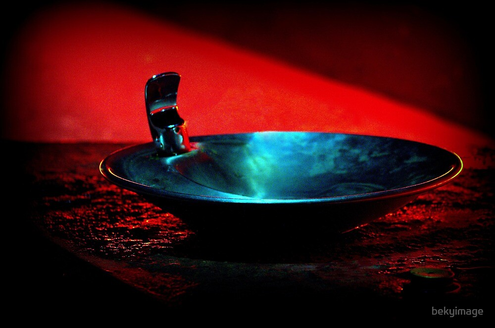 Steel Fountain by bekyimage