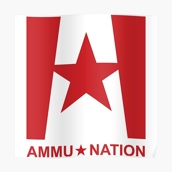 Ammu-Nation - GTA V Poster