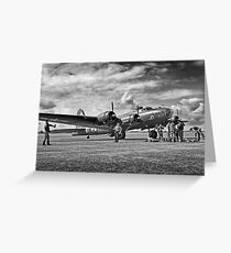 B17 WW2 Bomber Greeting Card