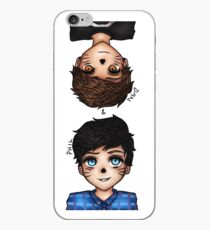 Anime Dan and Phil iPhone Case