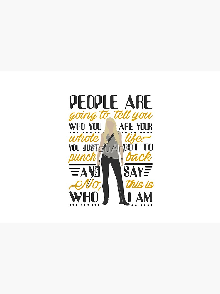People are going to tell you... Quote by KsuAnn
