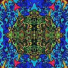 """""""Wereldbos"""" - Psychedelic World (posters and prints) by Steven De Kock"""