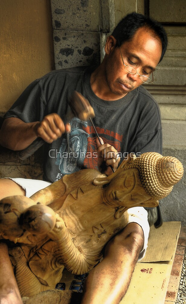 Making Of Buddha by Charuhas  Images