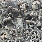 Halebidu sculpture by abhisanto
