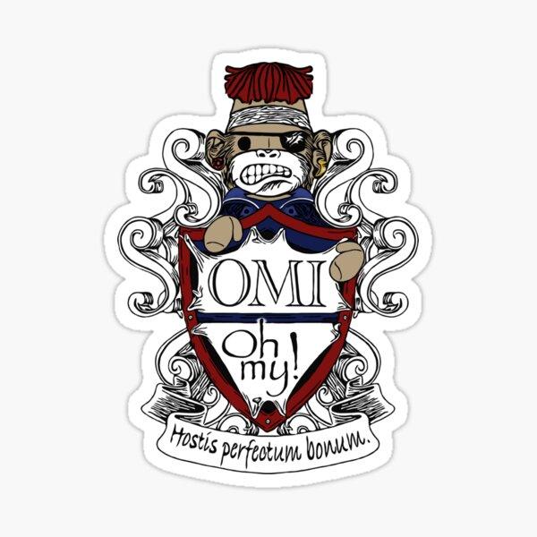 OMI Oh My GISH Team Sticker