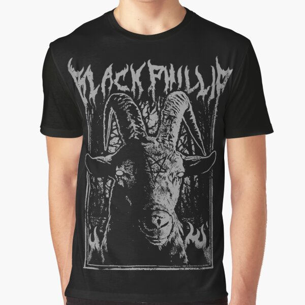 Black Metal Phillip Graphic T-Shirt