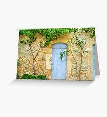 The Back Door to Heaven is in France Greeting Card