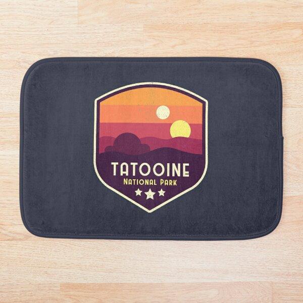 Tatooine National Park Emblem Bath Mat