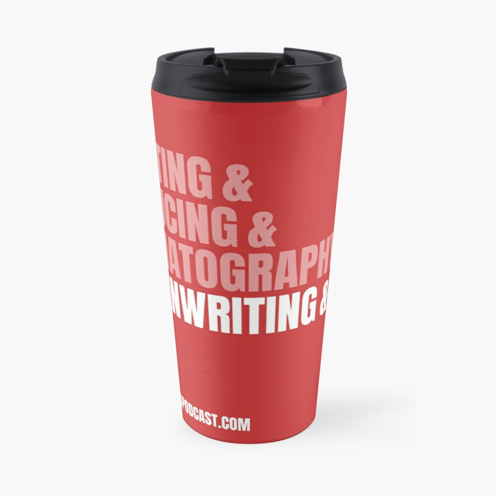 Screenwriting and Film Travel Mug