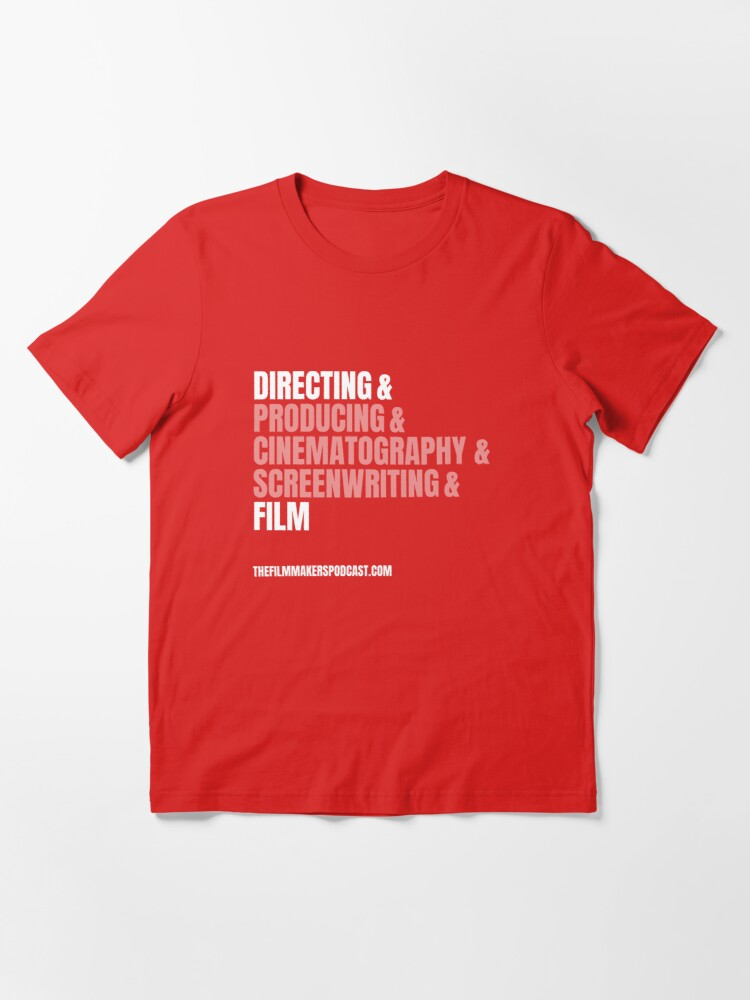 Alternate view of Directing and Film Essential T-Shirt