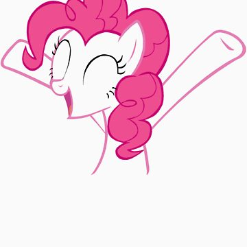 Pinkie is happy to see you ^^ by Speedmushroom