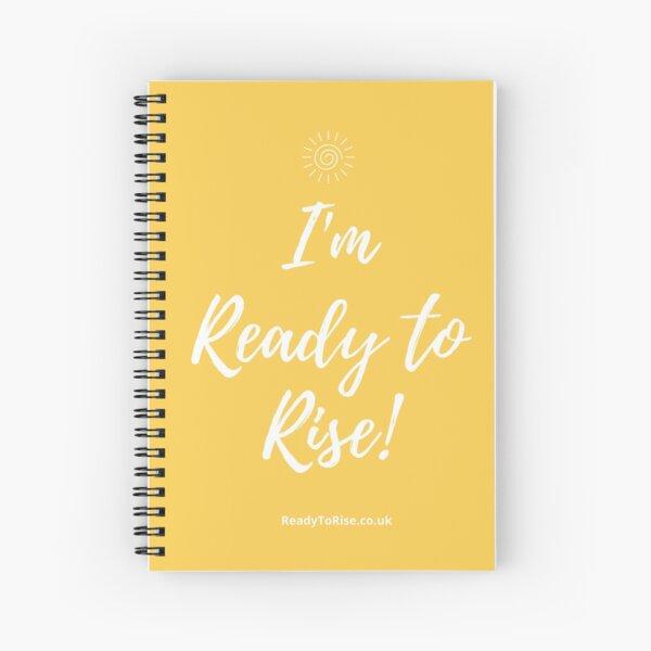 Listo para levantarse Cuaderno de espiral