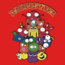 Monster Bunch by AdeGee