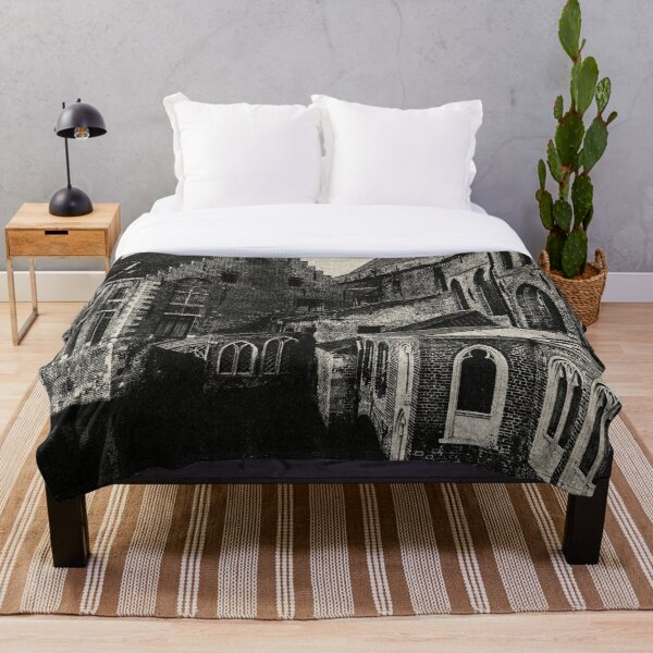 NOIR CITY / Once Upon Throw Blanket