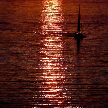 Icelandic sunset by pault55